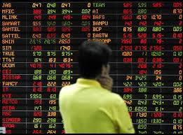 asian shares market