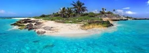 Caribbean island pic