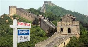 Chinese real estate investments