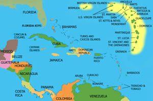 Venezuela-Caribe islands